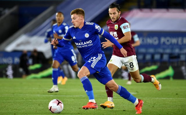 The Leicester v Burnley match on September 20 was live on the BBC