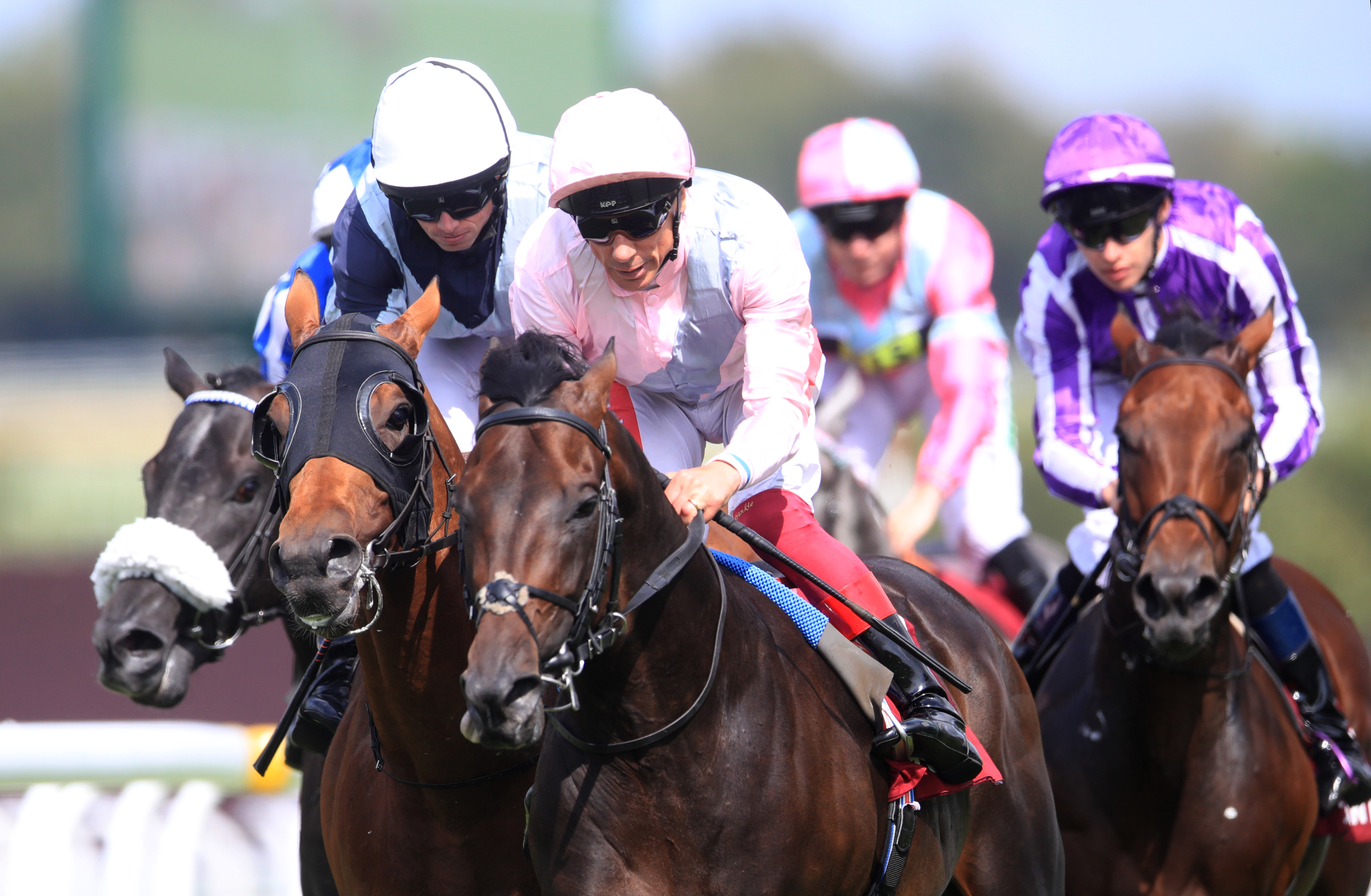 Too Darn Hot struck Group One gold at Goodwood