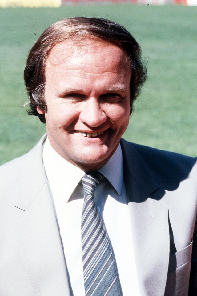 Ron Atkinson was at the helm of Manchester United for more than five years (PA)