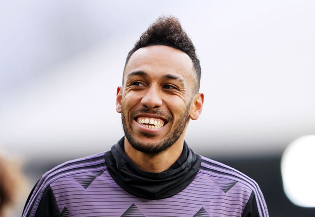 Pierre-Emerick Aubameyang remains with Arsenal