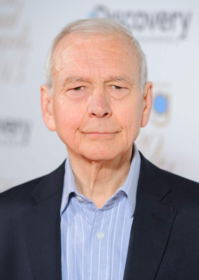 John Humphrys arriving at the Broadcasting Press Guild Television & Radio Awards