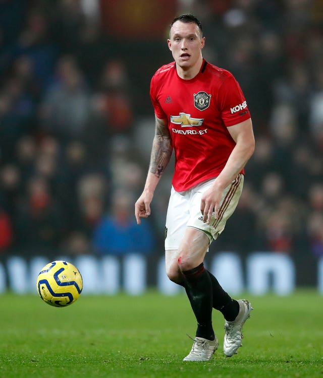Phil Jones File Photo