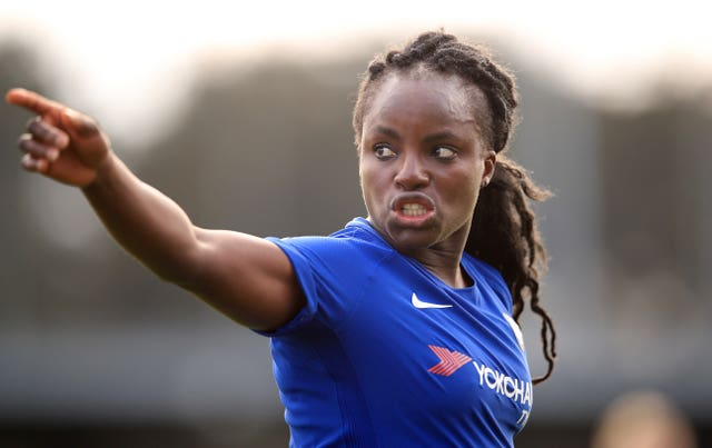 Mark Sampson was accused of making racist comments towards Eni Aluko, pictured