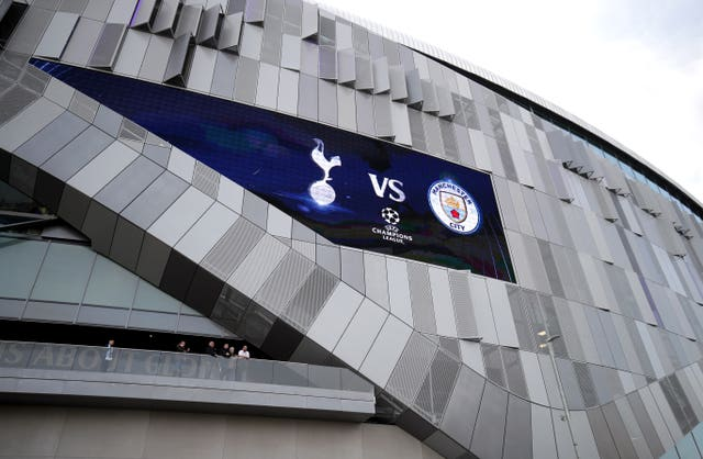 Tottenham have won three games out of three at their new stadium
