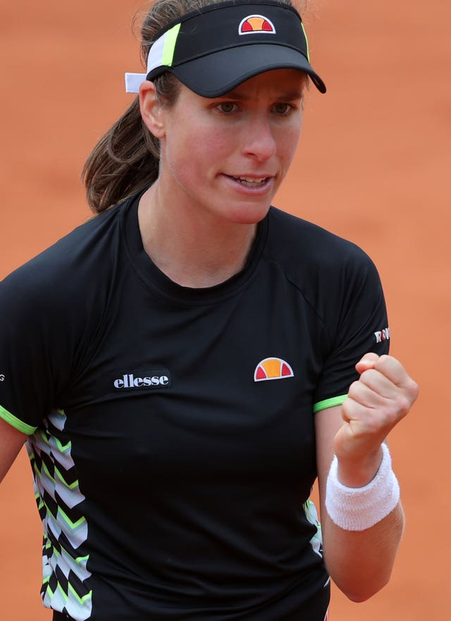 Johanna Konta reached the semi-finals of the French Open under Dimitri Zavialoff