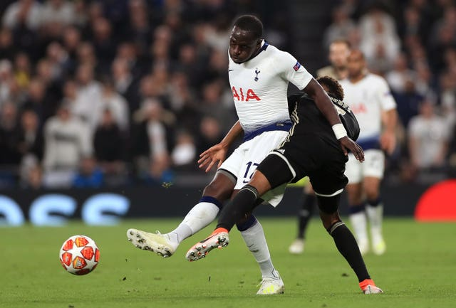 Moussa Sissoko (left) gave Spurs impetus in midfield