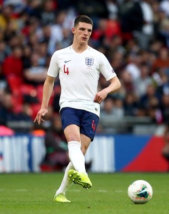 Declan Rice switched allegiance to England at the start of the year