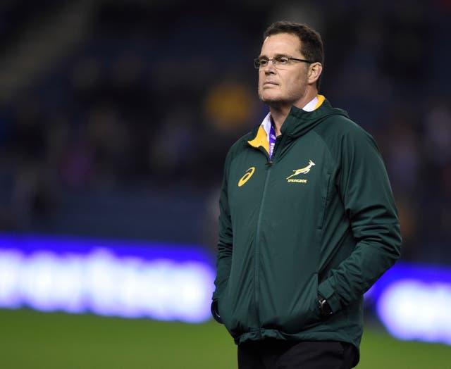 Rassie Erasmus' first win as South Africa head coach came against England