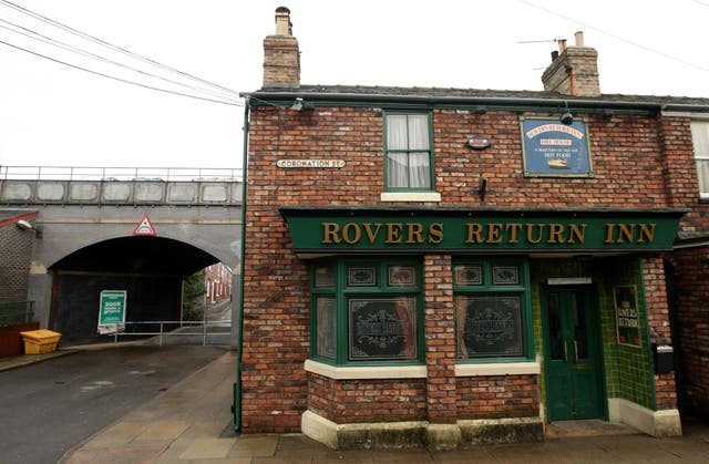 The Duchess of Cornwall visits Coronation Street - Manchester