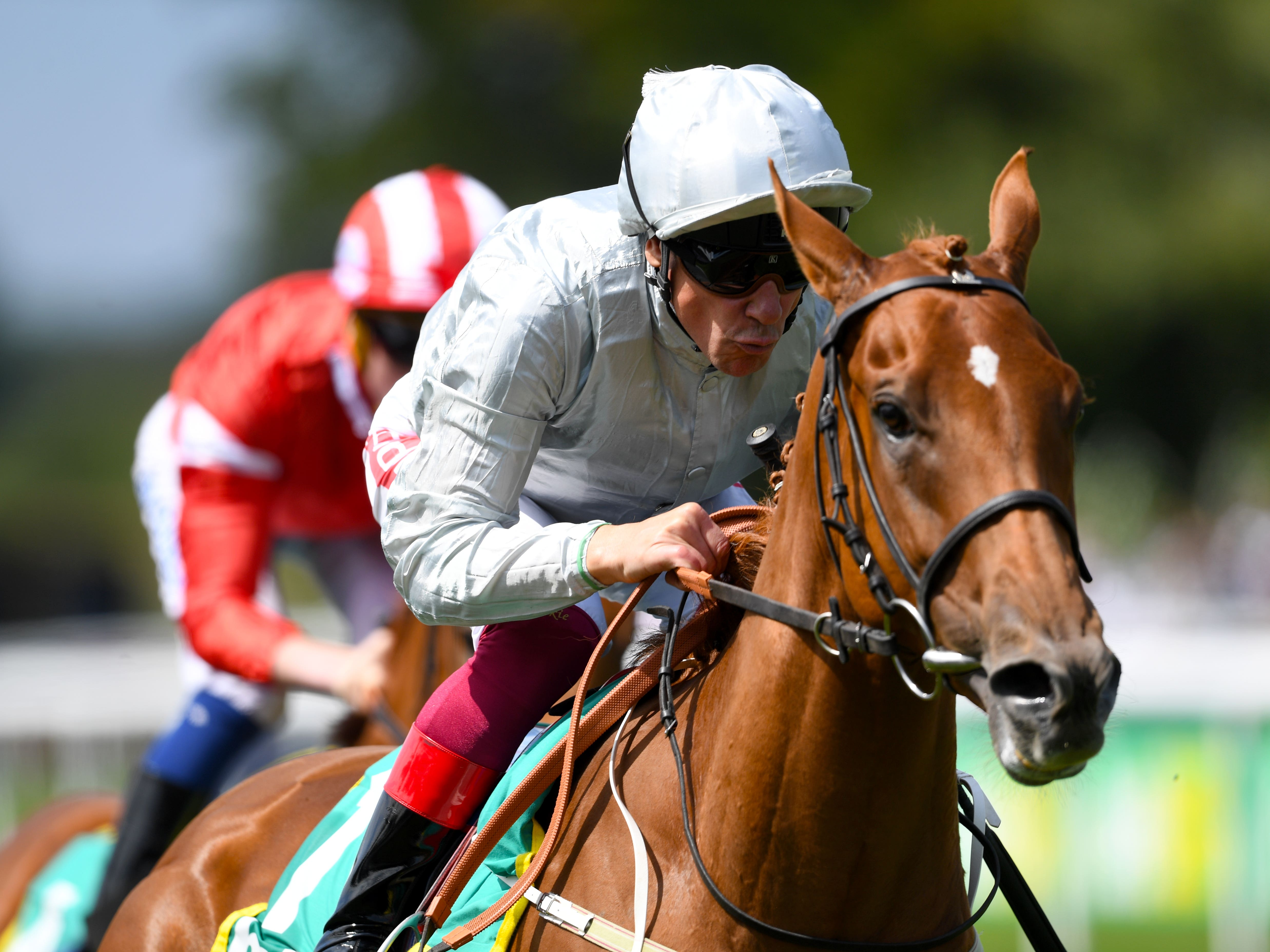 Raffle Prize wins the Duchess of Cambridge Stakes at Newmarket (Joe Giddens/PA)