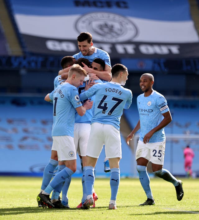 City made a slow start to the season but are now unbeaten in 27 games