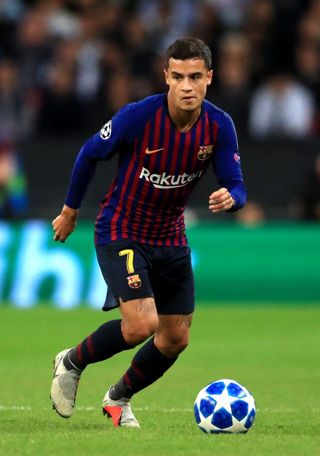 Philippe Coutinho was heavily involved in the first half