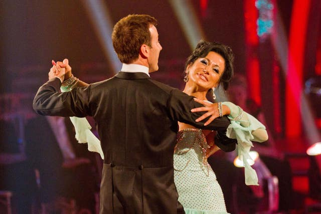 Anton Du Beke and Nancy Dell'Olio