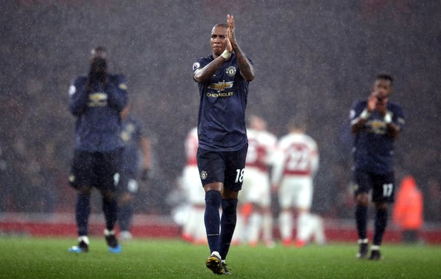 Ashley Young captained United as they slipped to a first Premier League defeat under Ole Gunnar Solskjaer.