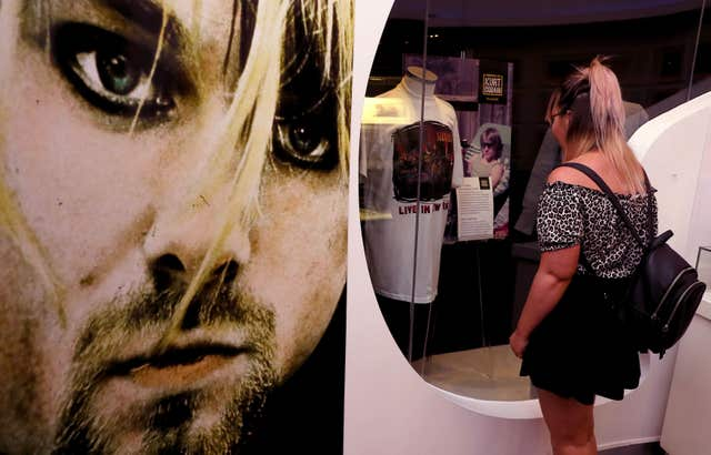 'Growing Up Kurt' exhibition