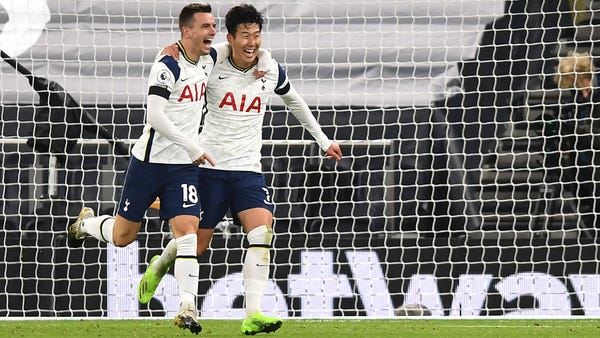 Tottenham produce trademark Jose Mourinho performance to beat Manchester City