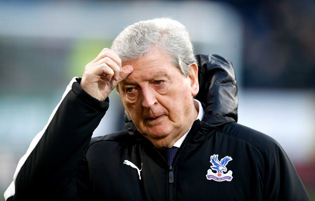 Palace boss Roy Hodgson was confused by Oliver's decision to check the monitor