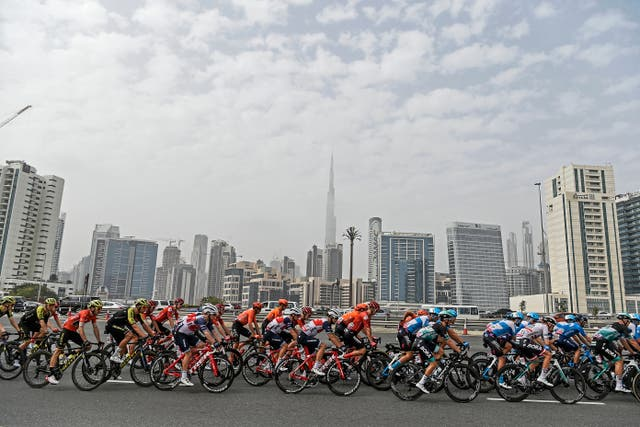 Michael Morkov had been competing in the UAE Tour