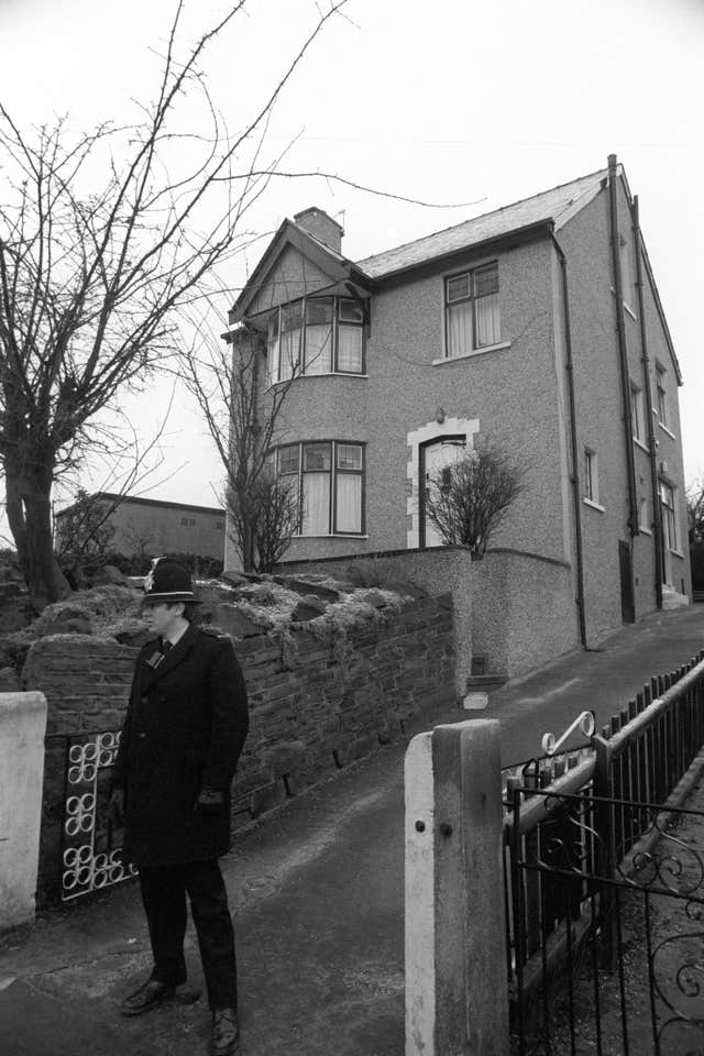 Peter Sutcliffe's house
