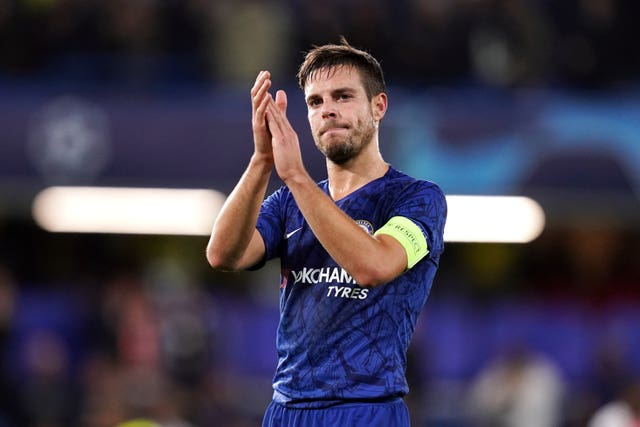 Cesar Azpilicueta saw what would have been a winning goal ruled out by VAR
