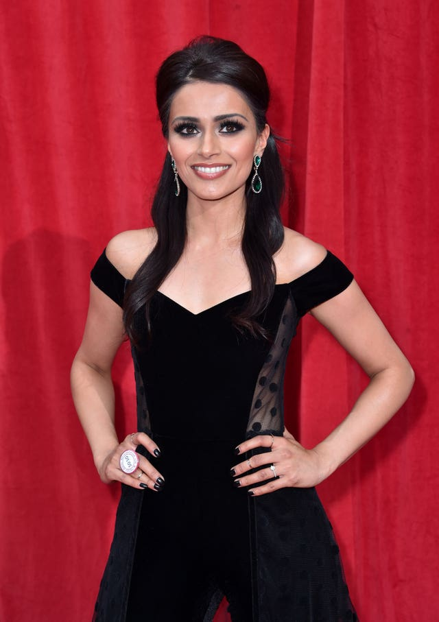 Bhavna Limbachia on the red carpet