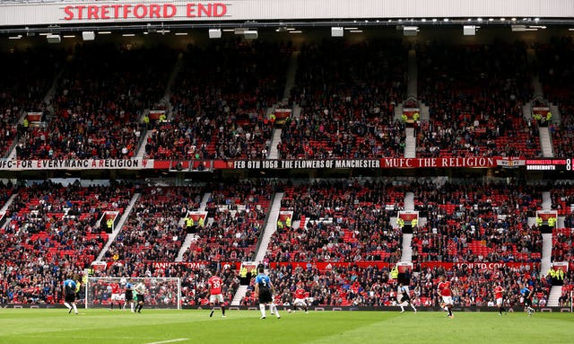 Manchester United v Bournemouth – Barclays Premier League – Old Trafford.