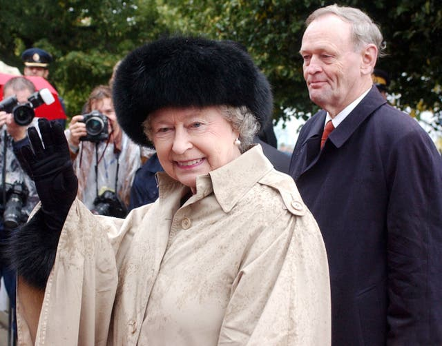 The Queen and Jean Chretien