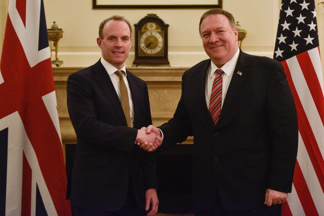Mike Pompeo UK visit