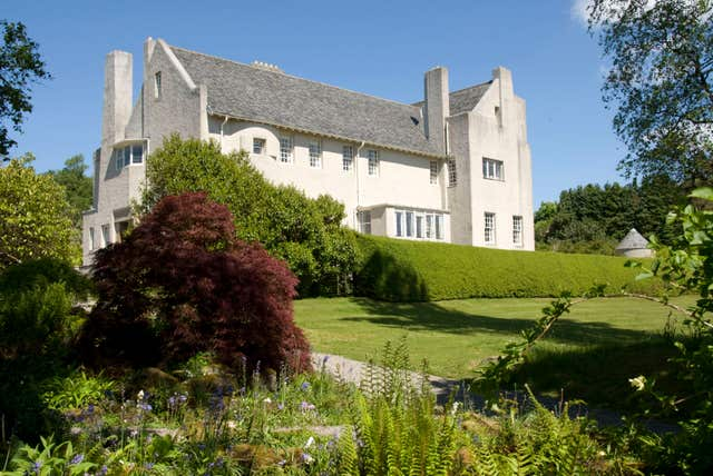 The Hill House in Helensburgh (Brian & Nina Chapple/National Trust for Scotland/PA)