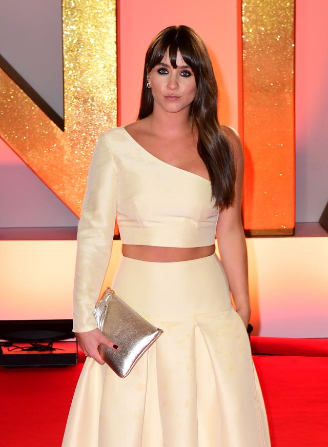 Brooke Vincent, who plays Sophie Webster (Ian West/PA)