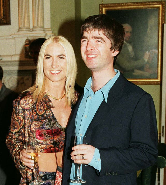 Meg Mathews and Noel Gallagher were married for four years