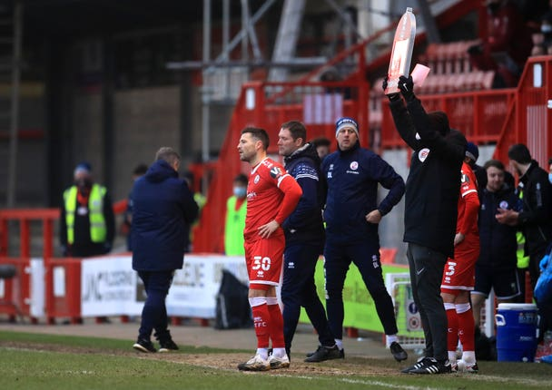Crawley Town v Leeds United – Emirates FA Cup – Third Round – People's Pension Stadium