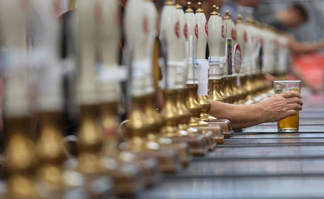 A half pint of real ale (philip Toscano/PA)