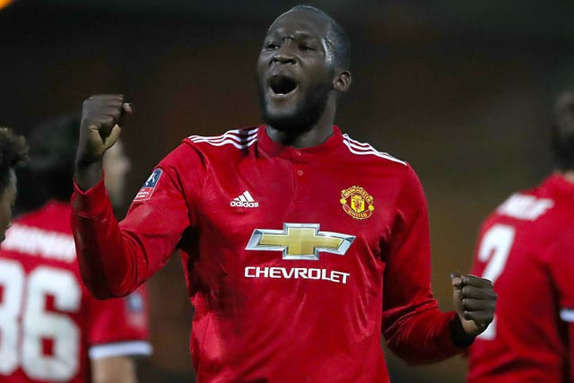 Lukaku joined Manchester United from Everton in 2017.