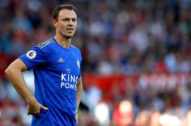 Jonny Evans featured in every Premier League game for Leicester this season