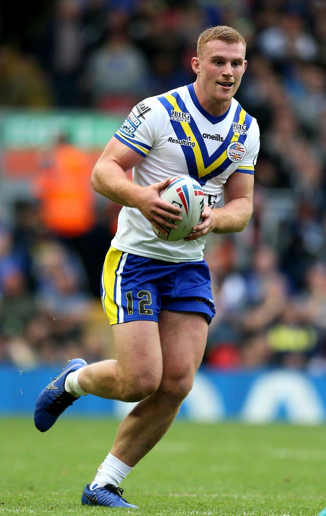 Warrington's Jack Hughes has recovered from the surgery that saw him miss the start of the season