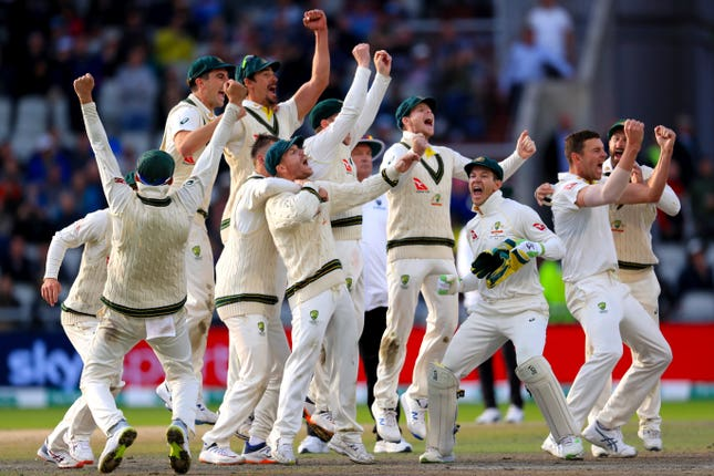 Australia are bidding to seal a first series win in England since 2001