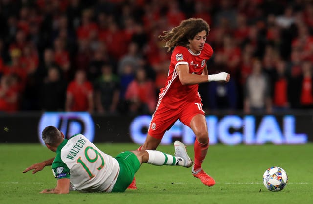 Ethan Ampadu of Chelsea is arguably Wales' brightest young talent (Mike Egerton/PA).
