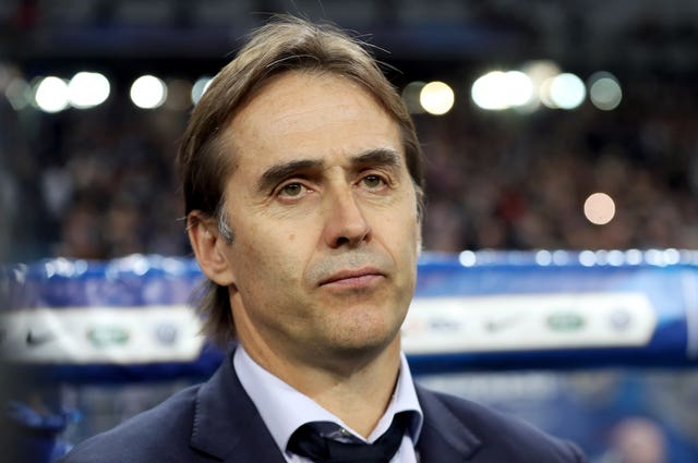 Julen Lopetegui was sacked as Spain boss on Wednesday (Adam Davy/EMPICS).