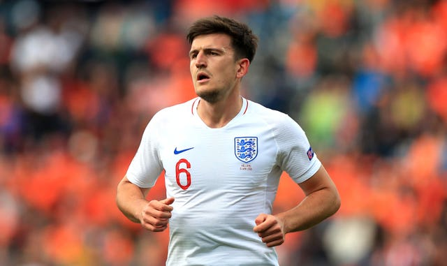 City have been linked with Leicester's Harry Maguire
