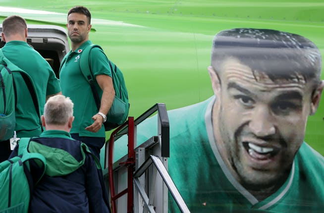 Ireland Depart for the Rugby World Cup