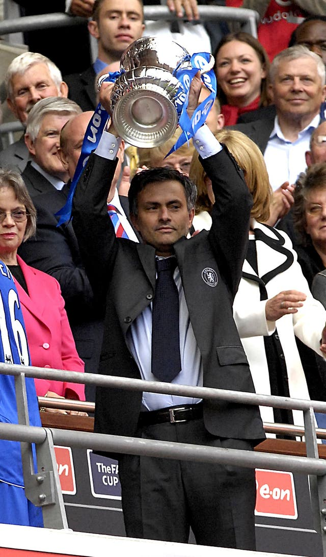 Jose Mourinho won the FA Cup with Chelsea