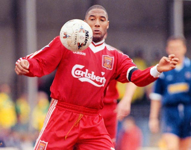 Liverpool's John Barnes suffered an Achilles injury on England duty