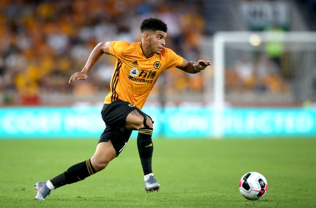 Morgan Gibbs-White has been reunited with boss Steve Cooper
