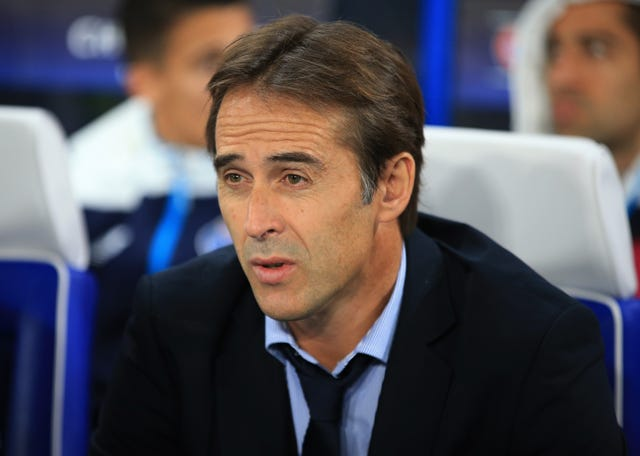 Solar has taken charge at Real following the sacking of Julen Lopetegui (Nick Potts/PA).