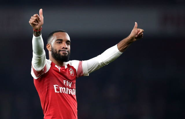 Lacazette was among five different scorers