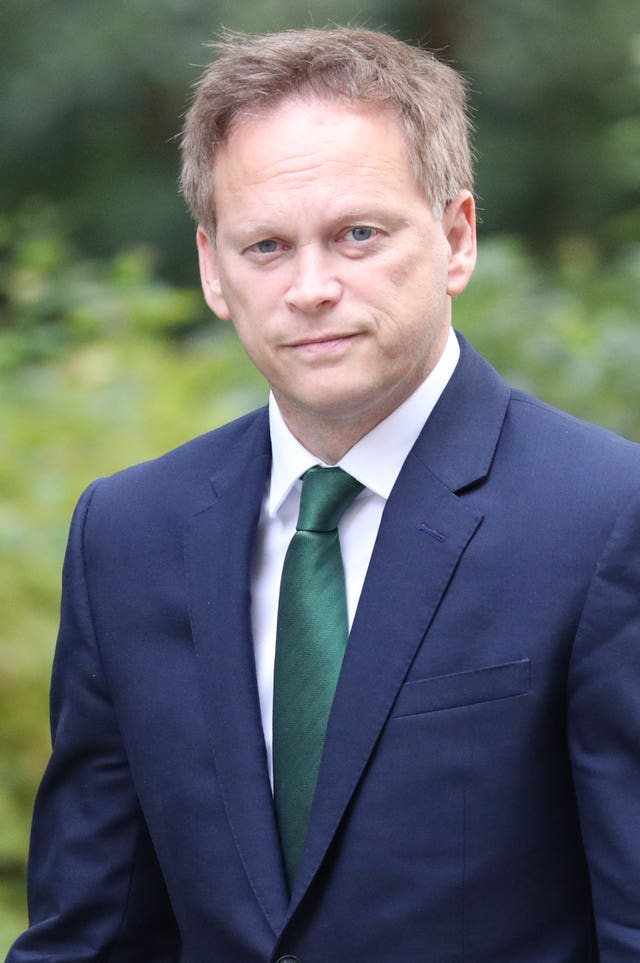 Grant Shapps was appointed Transport Secretary in July (Jonathan Brady/PA)