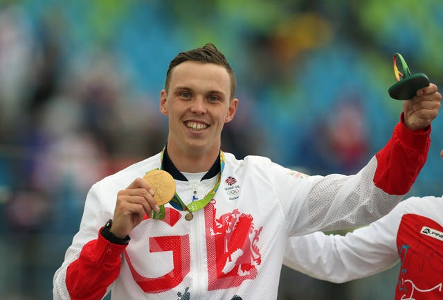 Joe Clarke took gold in the men's singles kayak at Rio 2016 (Martin Rickett/PA)