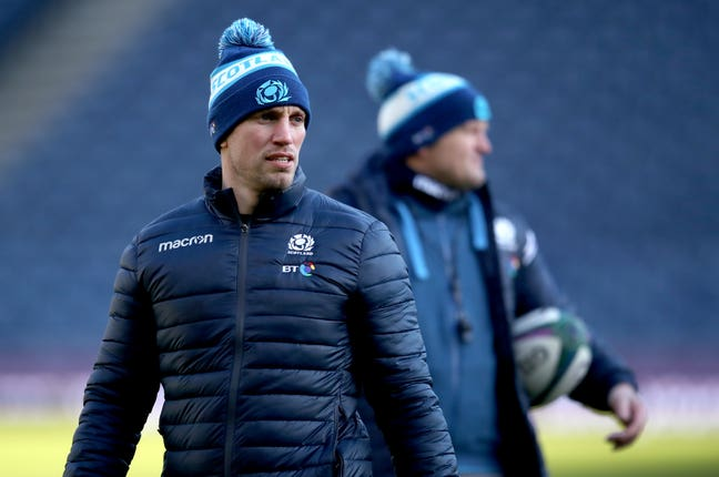 Scotland Captain's Run – BT Murrayfield Stadium