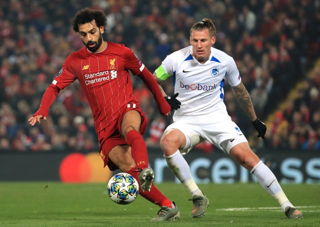 Liverpool v KRC Genk – UEFA Champions League – Group E – Anfield